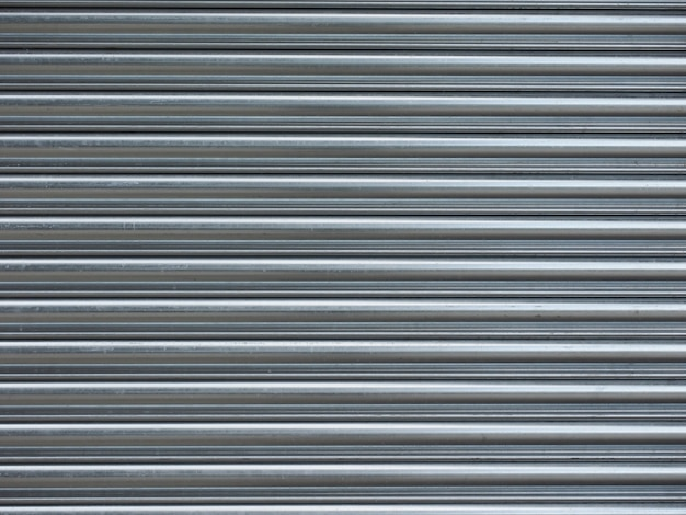 Grey aluminium metal texture background
