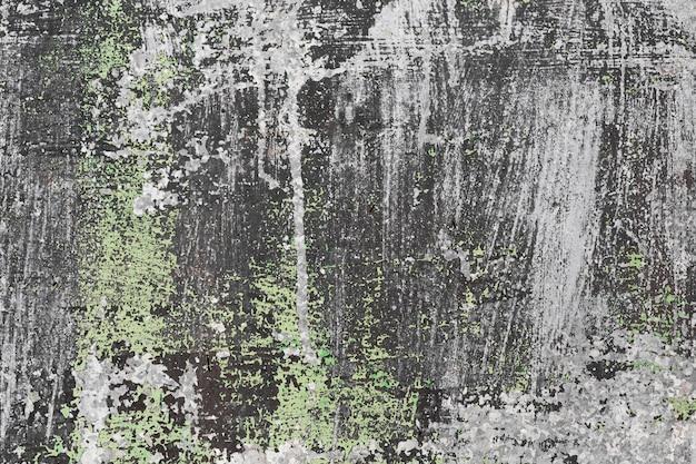 グレーとグリーンのステンドグラスのコピースペーススレート壁