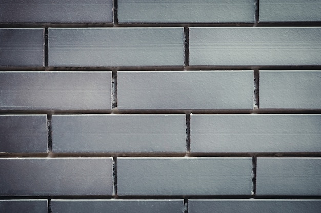Grey brick wall background, texture