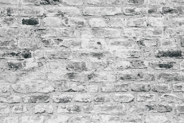 Grey brick wall texture as a background