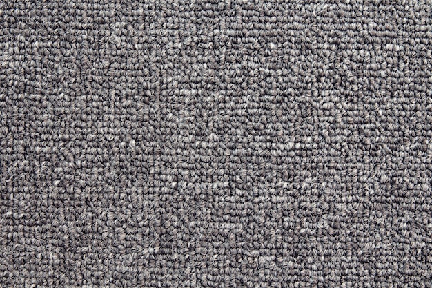 Grey carpet background, fabric texture