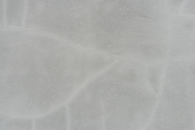Grey concrete wall with putty texture