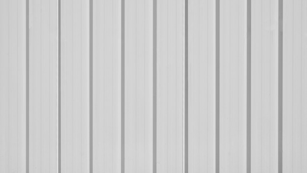 Grey corrugated metal roof wall
