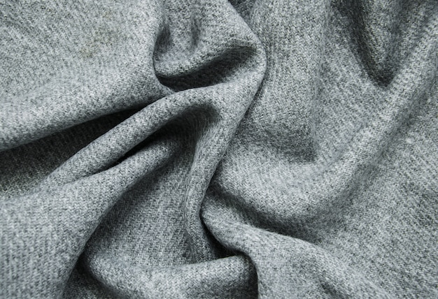Grey fabric background