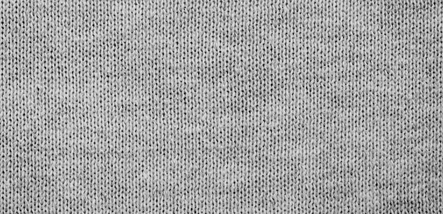 Grey fabric surface