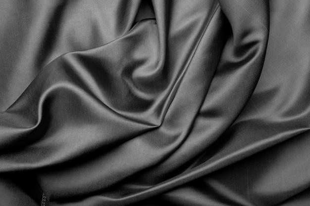 Серый фон текстуры ткани, аннотация, крупным планом текстура ткани