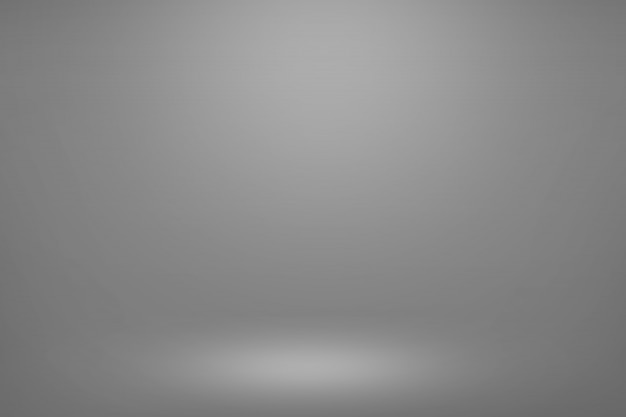 Grey gradient room background. empty room light interior for your creative and show display your products.