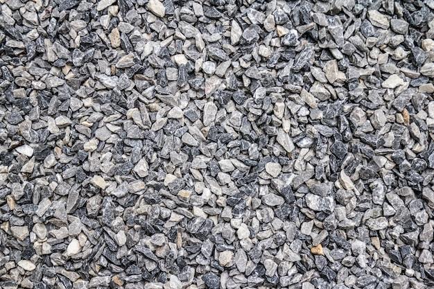 Grey gravel stone texture background