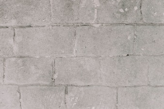 Grey grunge brick wall background