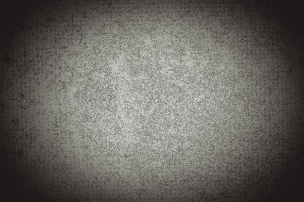 灰色のグランジテクスチャ、空のハーフトーンの背景。濃い色と濃い色