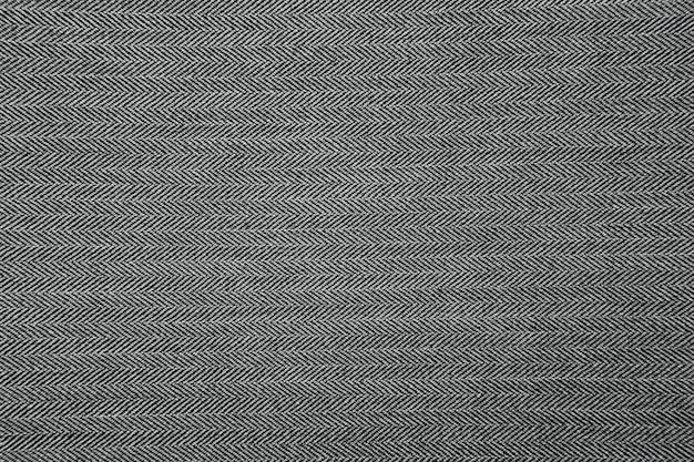 灰色のヘリンボーン生地パターンテクスチャ背景