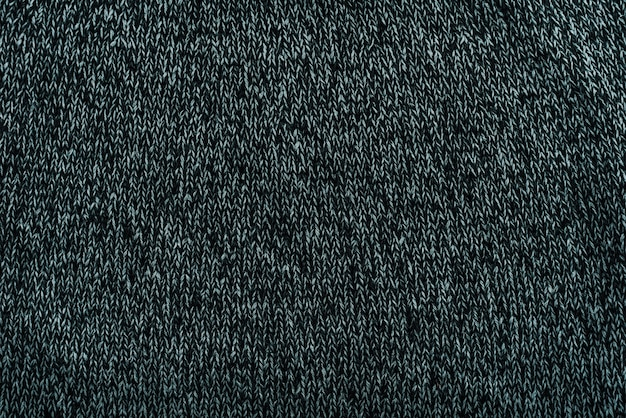 Grey knitted textile