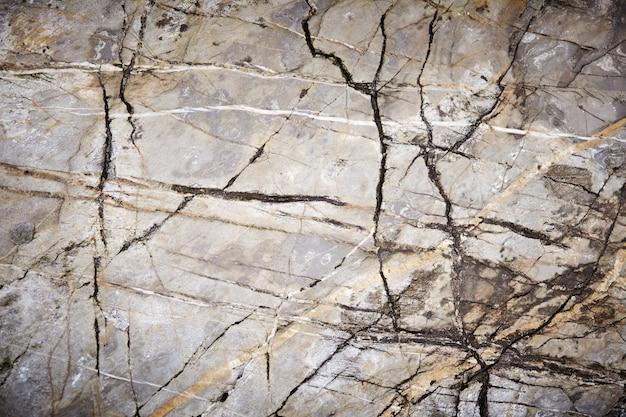 グレーライトイエロー大理石花崗岩石スラブ表面