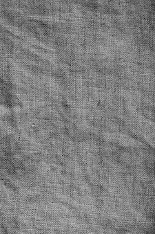 그레이 린넨 캔버스. 배경 이미지, 질감. 배경에 대 한 천연 리넨 텍스처입니다.