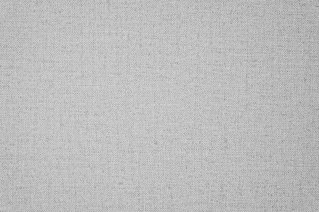 Grey linen fabric textured background
