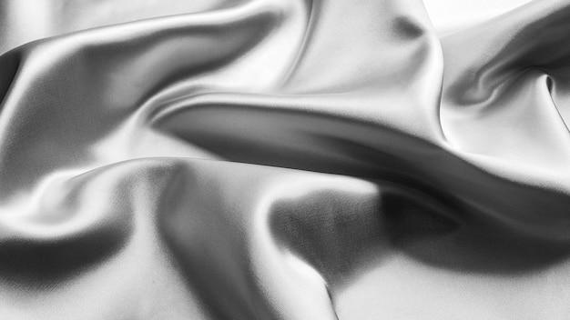 Серая роскошная текстура ткани - фон