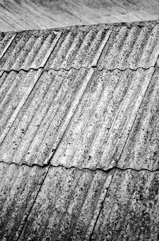 회색 슬레이트 지붕 배경