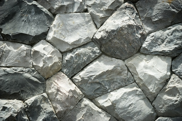 Grey stone on the ground texture background