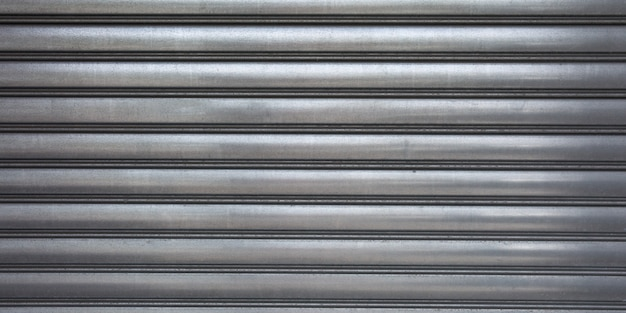 Grey texture metal banner gray corrugated background