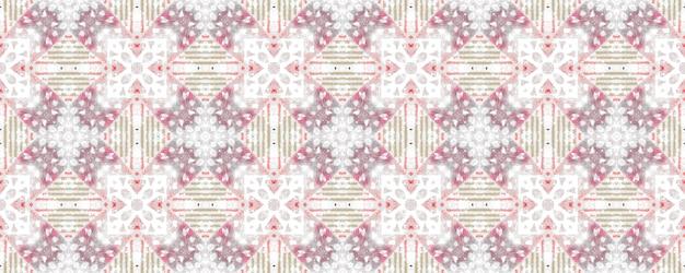 Grey white red seamless pattern. stylish texture. geometric fabric. scandinavian design.
