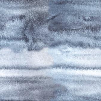 灰色の白い水彩画の背景とネクタイ染料のテクスチャ