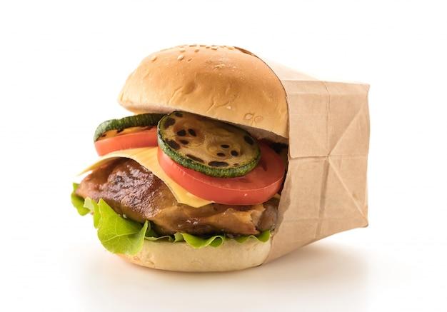 Griglia di pollo burger