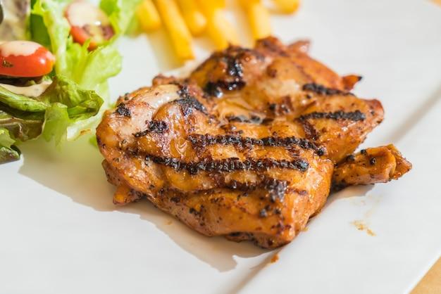 Стейк из куриного мяса