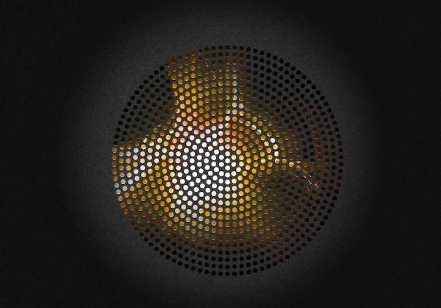 Абстрактный backgroun с радиальной решеткой