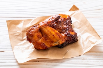 курица гриль и барбекю