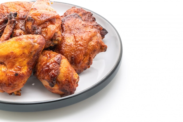 Grilled and barbecue chicken
