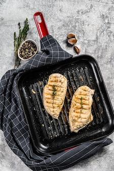 フライパンで焼いた鶏ササミの胸肉
