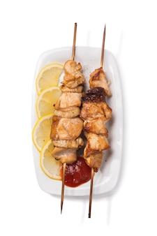 鶏肉の串焼き