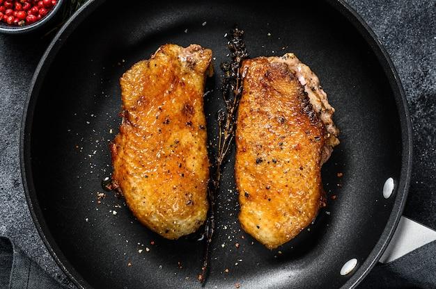 Филе утиной грудки гриль на сковороде