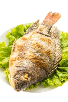 Grilled fresh fish