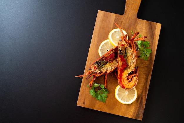 Grilled lobster steak