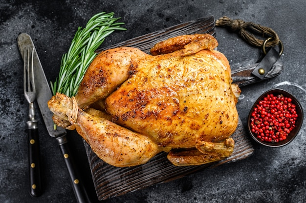 鶏肉の丸焼き焼き