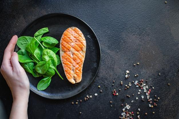 Лосось на гриле рыба барбекю гриль барбекю морепродукты омега вторые блюда закуска