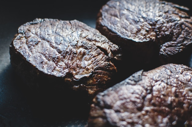 Grilled tenderloin steak