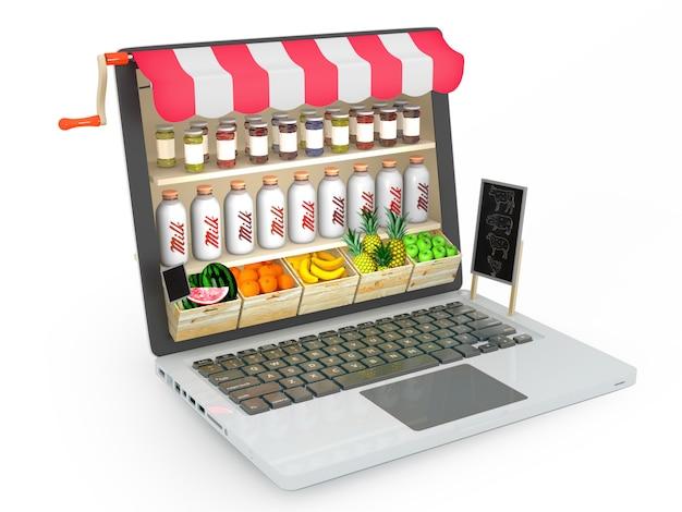 オンライン食料品店