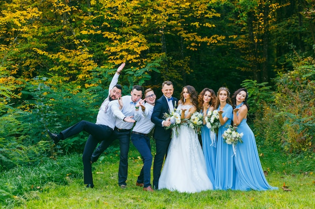 Дружки и подружки невесты