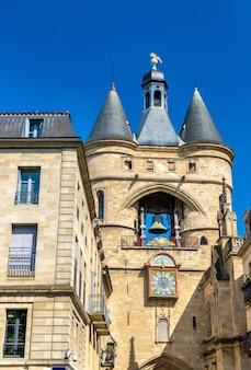 ボルドーの中世の鐘楼、グロスクローシュ-フランス、アキテーヌ