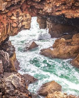 Grotto boca do inferno in cascais, portugal