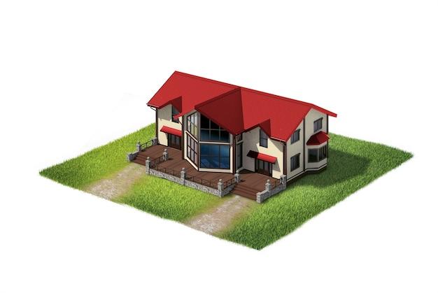 Земля с домом жилой
