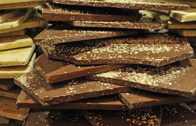 Group of chocolat