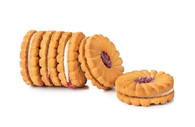 Group of cookies or biscuits