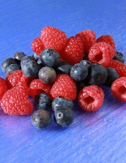 Group of fresh berry