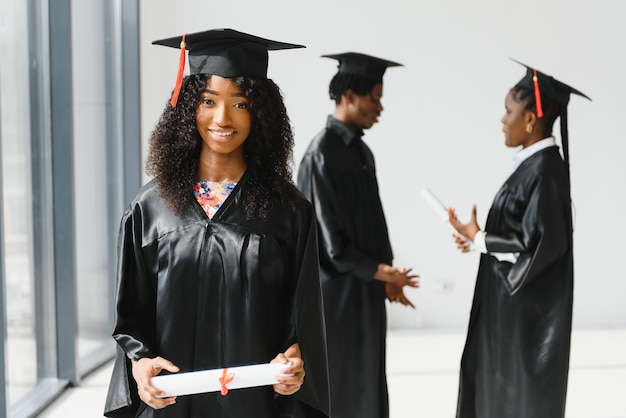 Группа афро-американских аспирантов