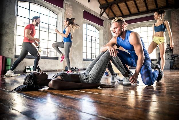 Группа подготовки спортсменов с функциональной гимнастикой