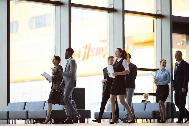Группа деловых людей фона