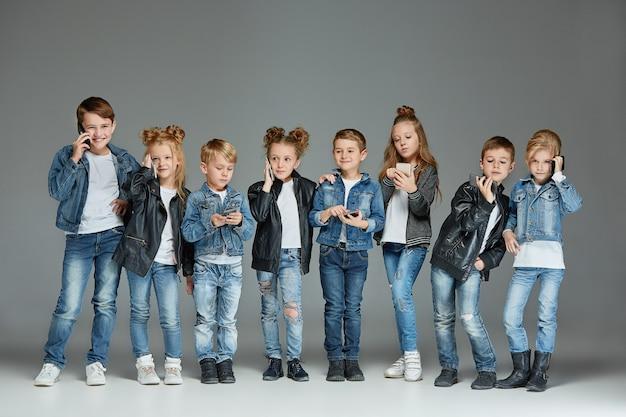 Группа детей studio concept